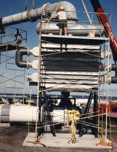 Surface Condenser for Desalinated Water Production (1994-1998)