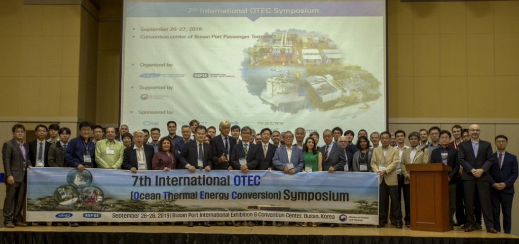 OTEC symposium attendees group picture